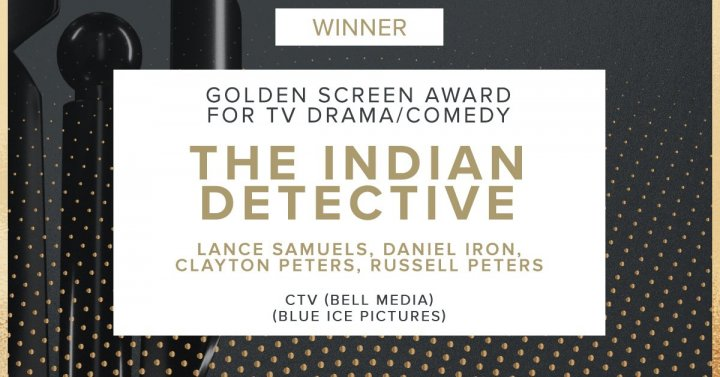 The Indian Detective Wins Golden Screen Award